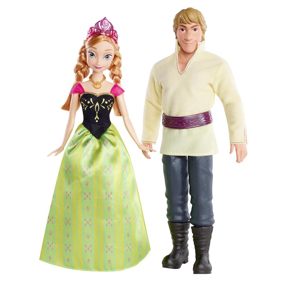 Mattel Frozen Набор кукол Анна и Кристоф - Холодное сердце
