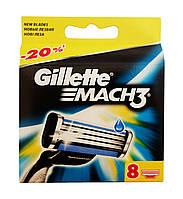 Сменные кассеты Gillette Mach3 - 8 шт.