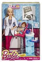 Набор кукла Барби стоматолог с аксессуарами и мебелью Barbie
