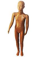 Манекен детский реалистичный в полный рост телесного цвета