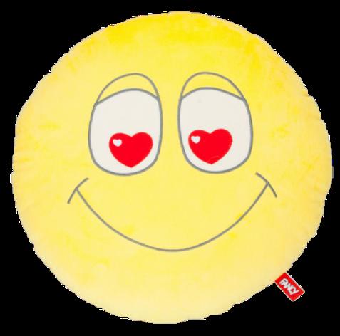 М'яка іграшка Fanсy Подушка смайлик закоханий, фото 2