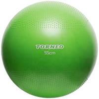 Гимнастический мяч Torneo 55 см с насосом (A-208)