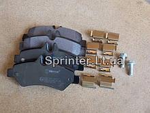 Колодки тормозные зад. MB Sprinter 209-319CDI/VW Crafter 30-35  06-
