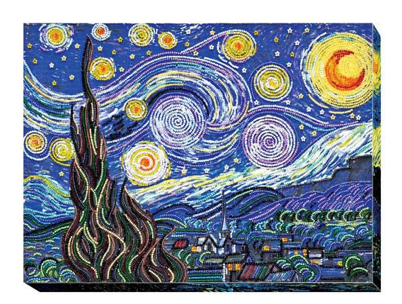 """Набор для вышивания бисером """"Звездная ночь"""", фото 2"""