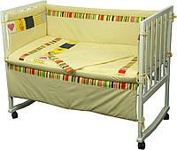 Комплект постельного белья в кроватку ЛЕТО