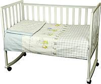 Постельное белье в кроватку Зайка на прогулянці Руно