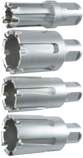 Твердосплавные корончатые фрезы Alfra для рельс, 25х25 мм