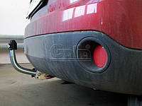 Оцинкованный фаркоп на Ford Fiesta 2002-2008 Крепление на два болта