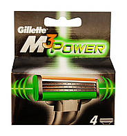 Сменные кассеты Gillette Mach3 Power - 4 шт.