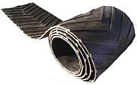 Лента транспортерная плоская бесконечная с V-образными резиновыми планками (шевронная)