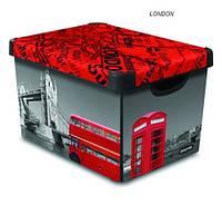 Ящик для хранения декоративный L London Curver