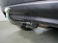 Оцинкованный фаркоп на Kia Sportage 2005-2010 Быстросъемное крепление