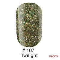 Гель-лак Naomi Gel Polish 107 - Twilight, 6 мл