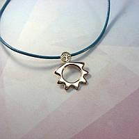 Эксклюзивный кулон с символом Бога Солнца и Деревом Жизни