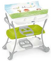 Пеленальный стол Cam Nuvola Зелено-голубой с домиком C610008 - 222