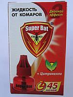 Супер Бат Жидкость от комаров 45 ночей