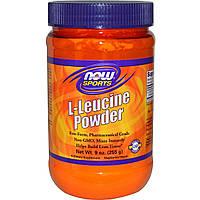L-лейцин порошок, Now Foods, 255 г
