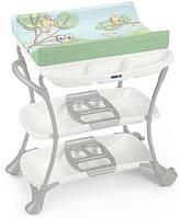 Пеленальный стол Cam Nuvola Голубой со зверятами C610008 - С225