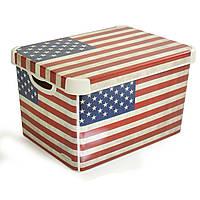 Ящик для хранения декоративный L Usa Flag Curver