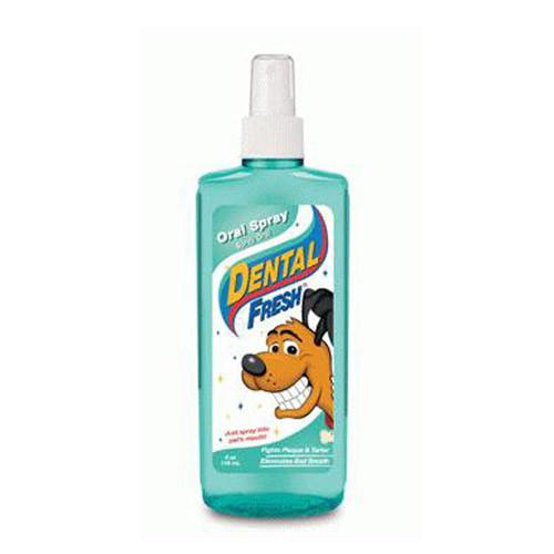 SynergyLabs СВЕЖЕСТЬ ЗУБОВ СПРЕЙ Dental Fresh Spay спрей от зубного налета и запаха из пасти собак