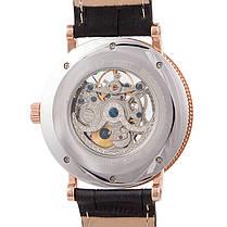 Мужские часы скелетон Breguet Skeleton Silver реплика, фото 3