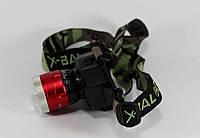 Налобный фонарик BL 6902-2 Бел.+УФ