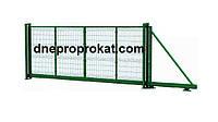 Ворота откатные Рубеж L3000*H1500 D4