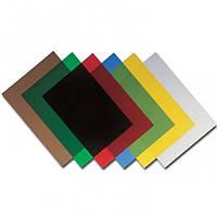 Обложка пластик А4 200 мкм, 100 шт/упак (ас, прозор) AGENT