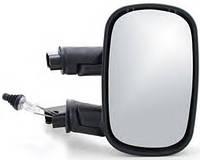 Дзеркало праве чорне Fiat Doblo (2000-2012) тросикове регулювання