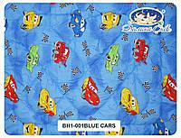 Одеяло детское в Бязе с наполнителем холлофайбер 100x140 см