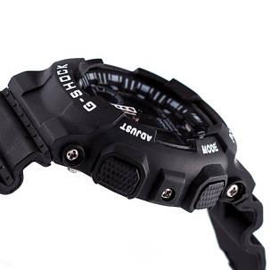 Спортивные часы Casio G-Shock ga-100 Black-White реплика, фото 2