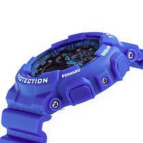 Спортивные наручные часы Casio G-Shock ga-100 Blue Касио реплика, фото 2
