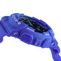 Спортивные наручные часы Casio G-Shock ga-100 Blue Касио реплика, фото 3
