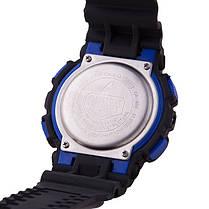 Спортивные часы Casio G-Shock ga-100 Black-Blue реплика, фото 2
