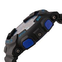 Спортивные наручные часы Casio G-Shock ga-100 Black-Blue Касио реплика, фото 2