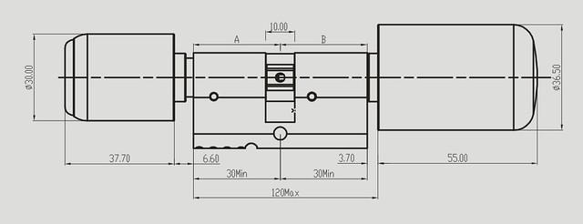 электронный rfid цилиндр