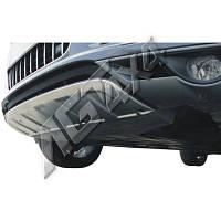 Декоративная накладка на передний бампер Audi Q7 2005-2012
