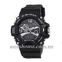 Бюджетные часы G-Shock Triple Sensor Black/White