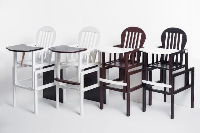 Деревянные стульчики-трансформеры