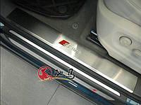 Накладки на пороги Audi Q5 2008-2012, фото 1