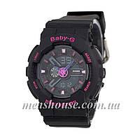 Бюджетные часы Casio Baby-G 110 Black/Pink