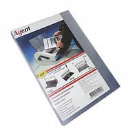 Обложка пластик А4 150мкм, прозр 100шт/уп AGENT