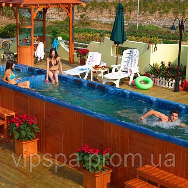 Плавательный spa комплекс - Edelweiss Long LIMO (11.00*2.20*1.60)