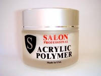 Акриловая пудра Salon Professional Standard,белая, 30 гр