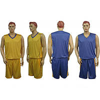 Форма баскетбол. мужск. двустор. без номера CO-1507-V