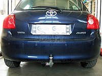 Оцинкованный фаркоп на Toyota Auris 2006- Крепление на два болта