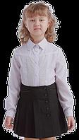Блузка Ванесса длинный рукав 116-152