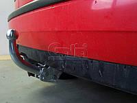 Оцинкованный фаркоп на Volkswagen Golf III 1991-1998 хэтчбек Крепление на два болта