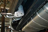 Оцинкованный фаркоп на Porsche Cayenne 2003- Быстросъемное крепление
