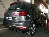 Оцинкованный фаркоп на Volkswagen Golf Sportsvan 2014- Быстросъемное крепление